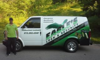 Eagle's Locksmith Cincinnati Work Truck.jpg