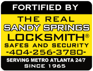 The Real Sandy Springs locksmith logo.png